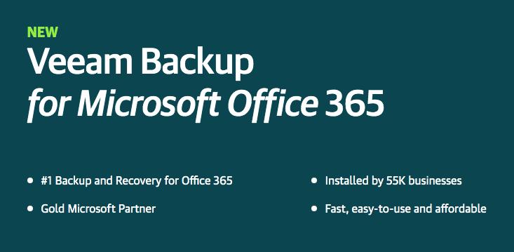 Veeam Office 365 Backup