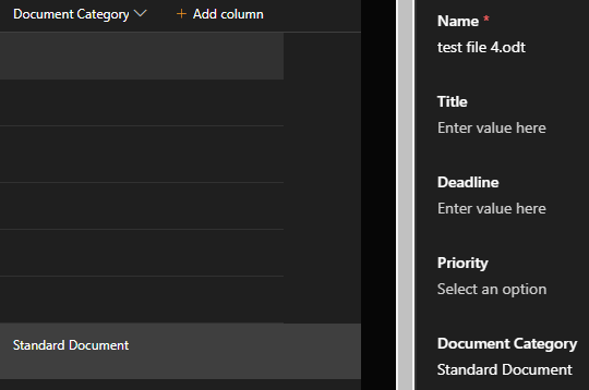 SharePoint completed custom column