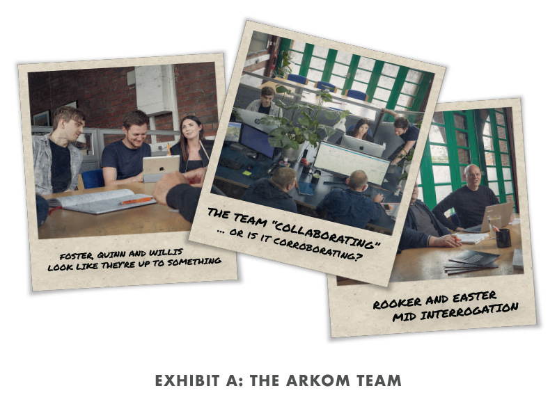 Exhibit A: The Arkom Team