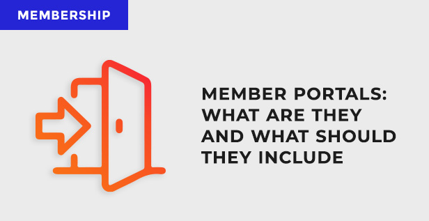member portals what should they include