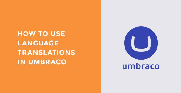Language translations in umbraco
