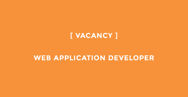 web application developer vacancy sheffield